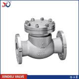 Válvula de verificación de acero de oscilación 900lbs del API 6D Casted de la fábrica