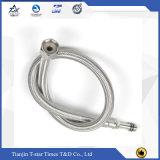 제조 강철 땋는 물결 모양 304는 유연한 금속 호스를 주름을 잡았다
