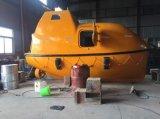 bote salvavidas total incluido de la fibra de vidrio 16persons de los 5.0m