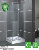 Cerco do chuveiro do francês da barra de sustentação do aço inoxidável do luxo 304