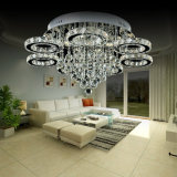 Lampe en cristal ambre modernisée de plafond de K9 DEL (AQ-882666-7)