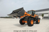 Ensign da fonte da fábrica carregador Yx656 da roda de 5 toneladas com manche, A/C e cubeta 3.0 M3