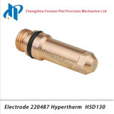 Electrode 220487 pour HSD130 Plasma Cutting Torch Consommables 130A