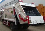 Caminhão de lixo da compressão de Foton Auling 4cbm