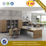 L meubles de bureau exécutifs de patte en métal de bureau de mélamine de forme (NS-ND119)