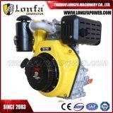 4 tiempos refrigerado por aire 4-10HP pequeño motor Diesel (horizontal)