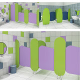 Colorful Bathroom Salle de toilette Partition Toilet Partition Material