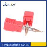 Molino de extremo redondo micro de la nariz para la máquina del CNC