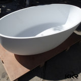 Blanco Mate Solid Surface Bañera mayorista Fabricante
