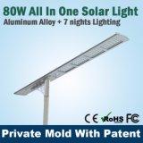 Énergie solaire bon marché 50W tout dans les produits solaires d'un de DEL Dimmable de réverbère