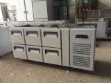 Подгонянный холодильник таблицы работы нержавеющей стали