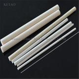 Tubo filettato allumina di 95% che filetta i tubi di ceramica dell'allumina di ceramica dei tubi 95% 99% dell'allumina