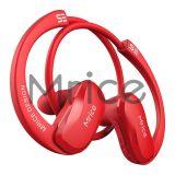 Auriculares estereofónicos sem fio de Bluetooth do auscultadores do BT do fone de ouvido da cor vermelha