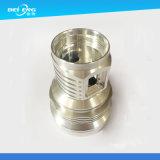 Encargo de precisión de mecanizado CNC, torneado y fresado pieza de aluminio