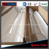 Un tubo cerrado del cuarzo del extremo/tubo de cristal Polished óptico de cuarzo