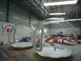 販売のためのトンネルが付いている2016年のキャンプの明確な透過膨脹可能な泡テント