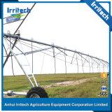 Asperjar los sistemas de irrigación para las tierras de labrantío