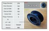 Gran carrete de cable profesional material de Supplierplastic