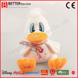 Brinquedo macio enchido do pato do luxuoso de Aniaml para o bebê