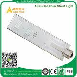 luz de calle solar toda junta de 30watts LED con el sensor de movimiento de PIR