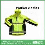 Ropa deportiva de alto estilo reflectante de seguridad de la ropa chaqueta reflectante