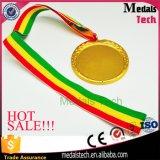 65mm Taille Or Argent Bronze Médaille vide de sport bon marché
