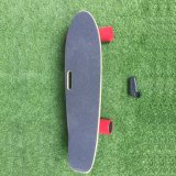 Skate elétrico do retrocesso das rodas baratas por atacado da placa 4 da moeda de um centavo