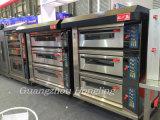 2017新式の専門のパン屋装置の贅沢なデッキのオーブンの6皿