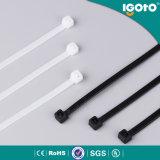 L'usine a produit le serre-câble PA66 en plastique en nylon de 100%
