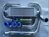Refroidisseur automatique noir de tube de refroidisseur intermédiaire pour les B-Séries de Honda (B16 B18 B20)