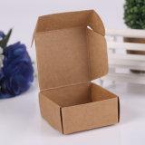 Caixa pequena de papel de empacotamento recicl costume da impressão