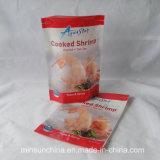 La bolsa de plástico de empaquetado modificada para requisitos particulares del papel de aluminio para los mariscos