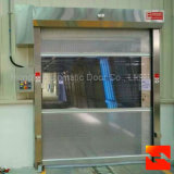 Porte à grande vitesse électrique industrielle d'obturateur de rouleau de PVC