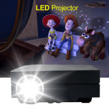 Mini LED Vídeo casero video digital Pico Proyector Multimedia, GM60A portátil inalámbrico 1000 lúmenes del proyector 800x480p en Stock