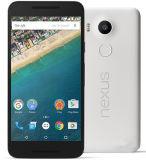 Fábrica genuína 4G Android dobro destravado do nexo 5X telefone móvel do telefone esperto de 5.2 polegadas