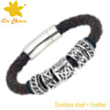 Handgemachte Armbänder Stlb-012 für Mann-Leder