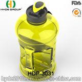 Il natale portatile BPA libera 2.2L la bottiglia di acqua di plastica, la grande bottiglia di acqua personalizzata di formato PETG 2.2L (HDP-3031)