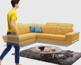 Bequeme Ecke L Form-Sofa-Couch-Set des Gewebe-2017