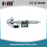 micrómetro electrónico del V-Yunque de 5-20mmx0.001m m con 3 flautas