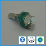 Interruttore rotativo di Potemtiometer dell'D-Asta cilindrica del potenziometro 9mm B10k di basso costo