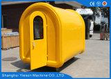 Burger-Stall-mobile Nahrungsmittelkarren für Verkauf