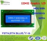 122X32 도표 LCD 디스플레이, MCU 8bit 의 의학 POS를 위한 옥수수 속 LCD 위원회, 차