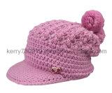 Casquillo de la manera/sombrero caliente/casquillos de lana Hand Knitted de la manera (DH-11632)