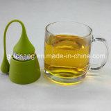 Горячий продавая новый стрейнер чая силикона нержавеющей стали потека типа