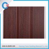 painel de teto laminado de madeira do PVC do painel de parede do PVC do projeto da largura de 300mm