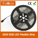 Super helles flexibles DC12V SMD5050 LED Streifen-Licht