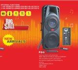 Altoparlante di Bluetooth con l'altoparlante F86 della batteria di FM