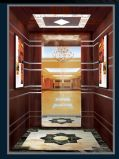 Зеркало в реальном лифте пассажира лифта стены