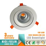 3years MAZORCA LED Downlight del CREE de la garantía 45W