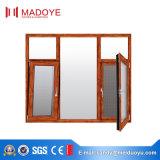 Niedriges e-Glasaluminiumlegierung-Flügelfenster-Fenster